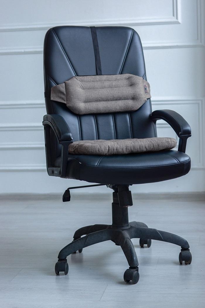 Подушка на стул Smart Textile Уютный офис КРАФТ 40x40 см