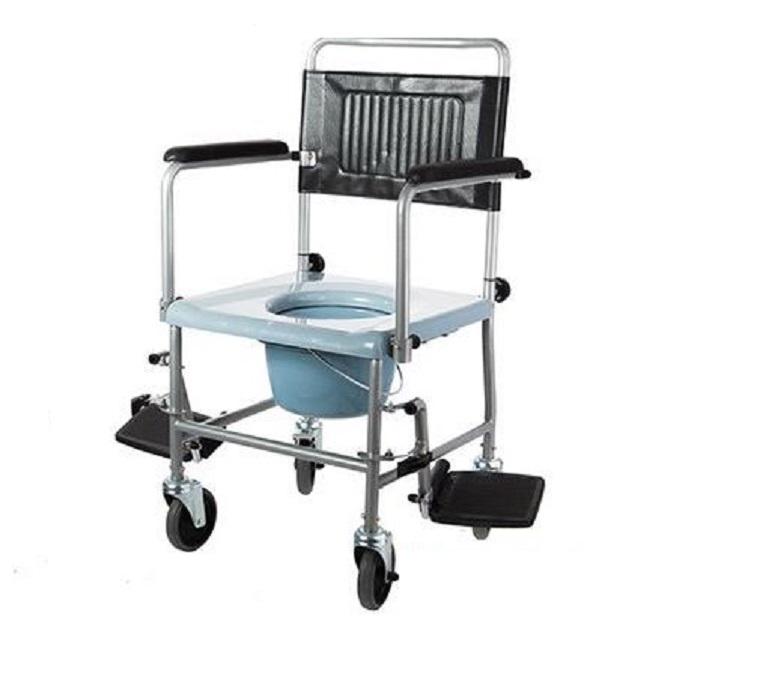 Кресло-каталка с туалетным устройством W2 (5019W2P)