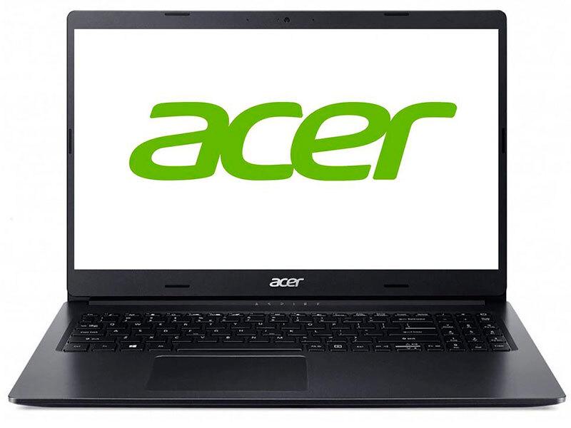 """15.6"""" ноутбук, игровой ноутбук acer aspire 3 a315-57g-375y, intel core i3-1005g1 (1.2 ггц), ram 4 гб, ssd 256 гб, nvidia geforce mx330 (2 гб), без системы, (nx.hzrer.014), черный"""