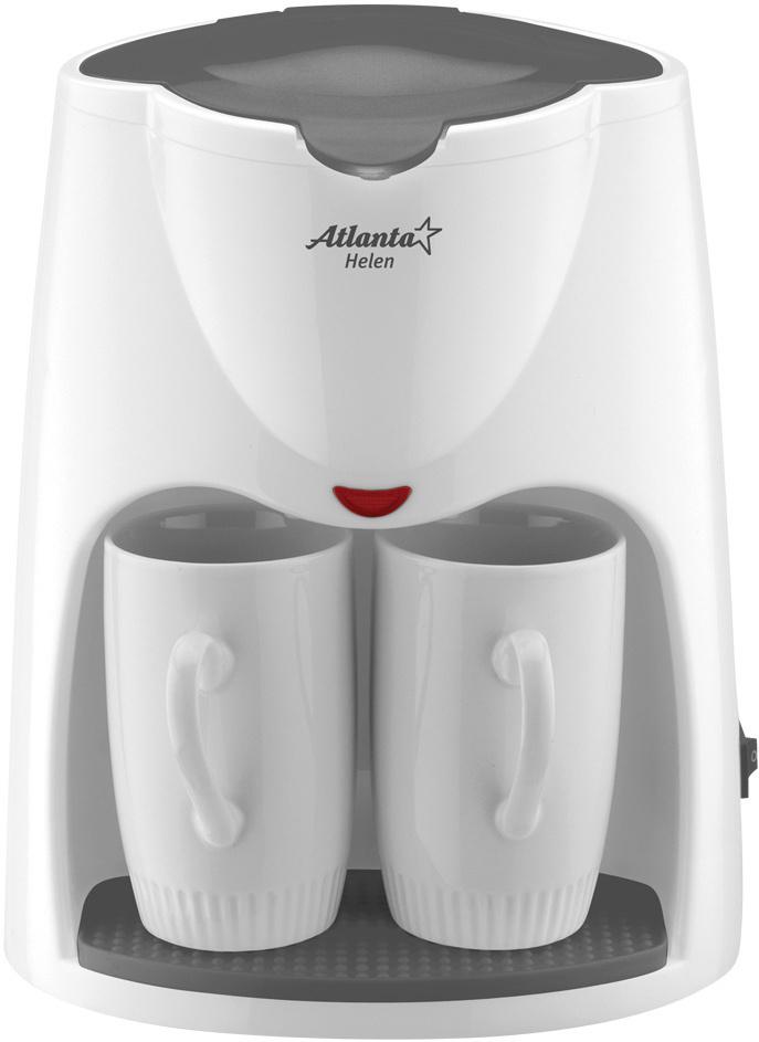 Кофеварка электрическая Atlanta ATH-2208, белый #1
