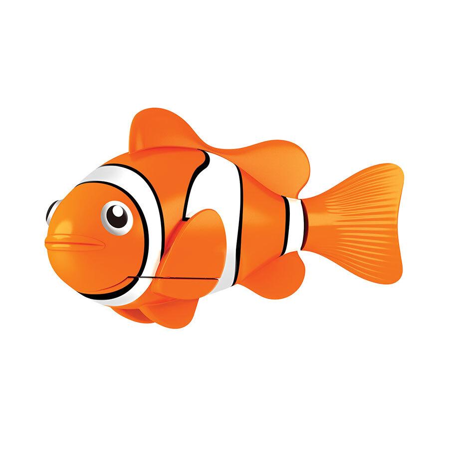 Игрушка для ванны РобоРыбка: Клоун, цвет: оранжевый, белый  #1