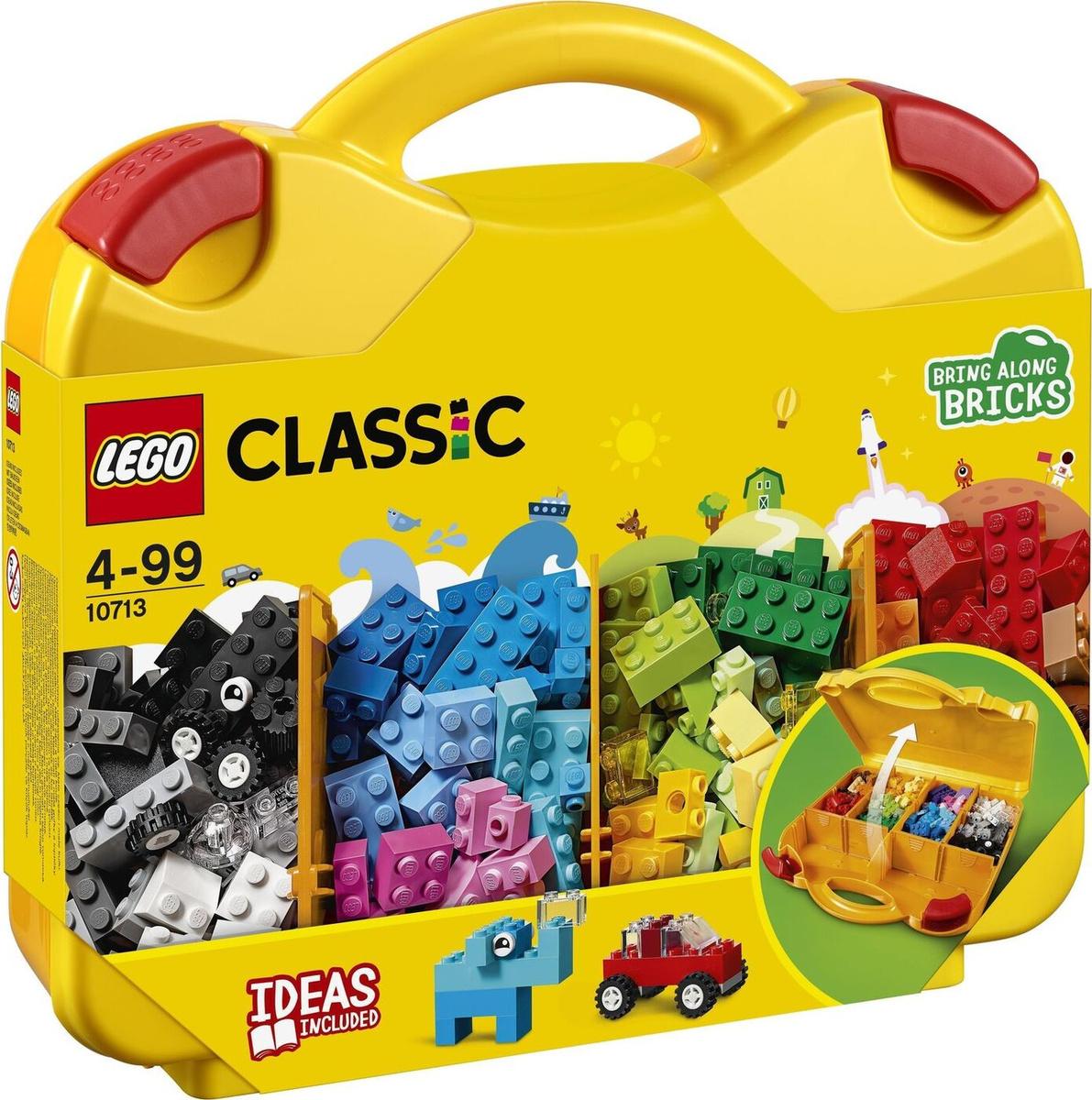 Конструктор LEGO Classic 10713 Чемоданчик для творчества и конструирования  #1