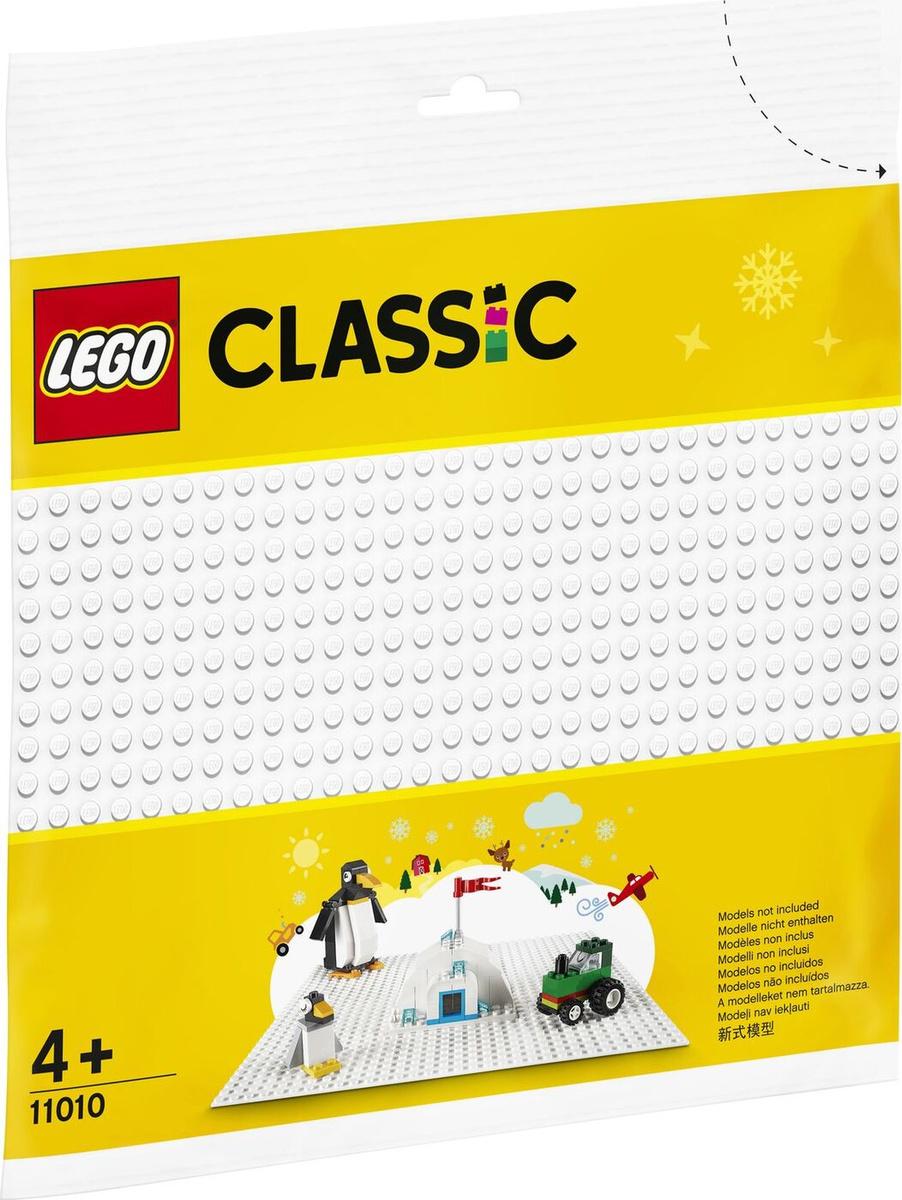 Конструктор LEGO Classic 11010 Белая базовая пластина #1