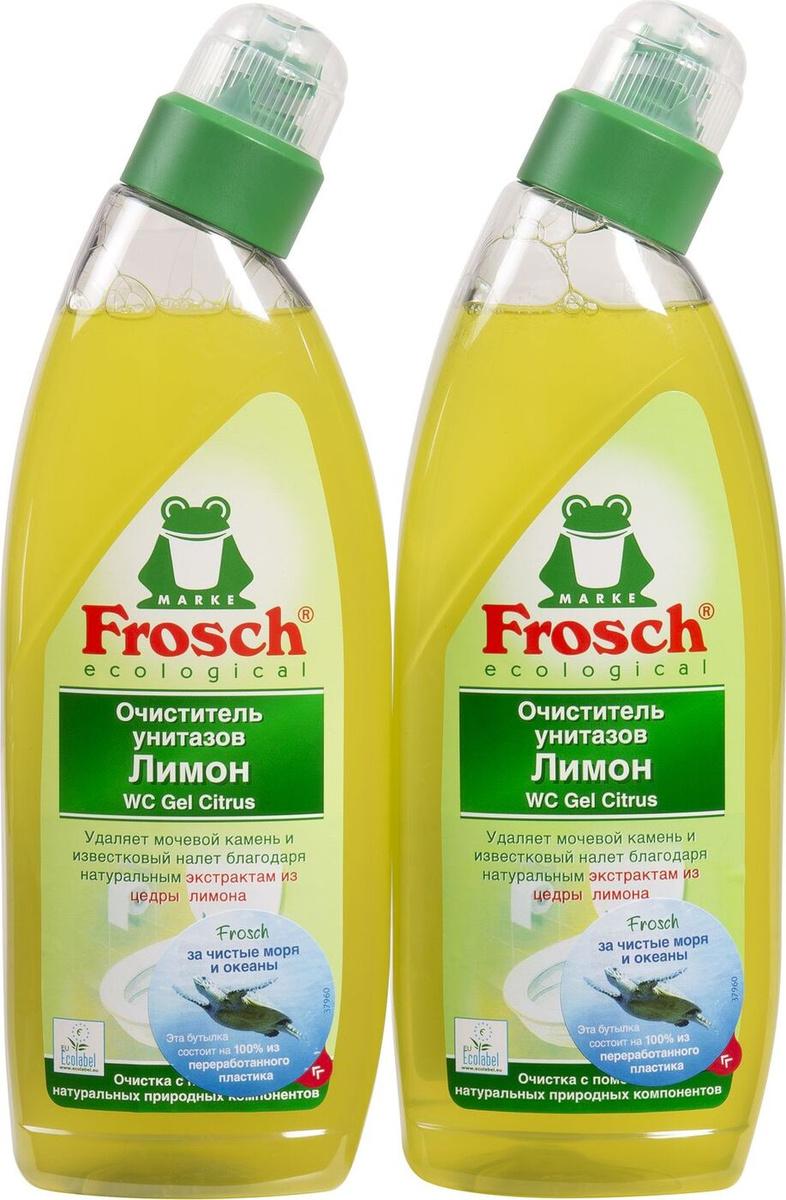 """Очиститель для унитазов """"Frosch"""", с ароматом лимона, 750 мл #1"""
