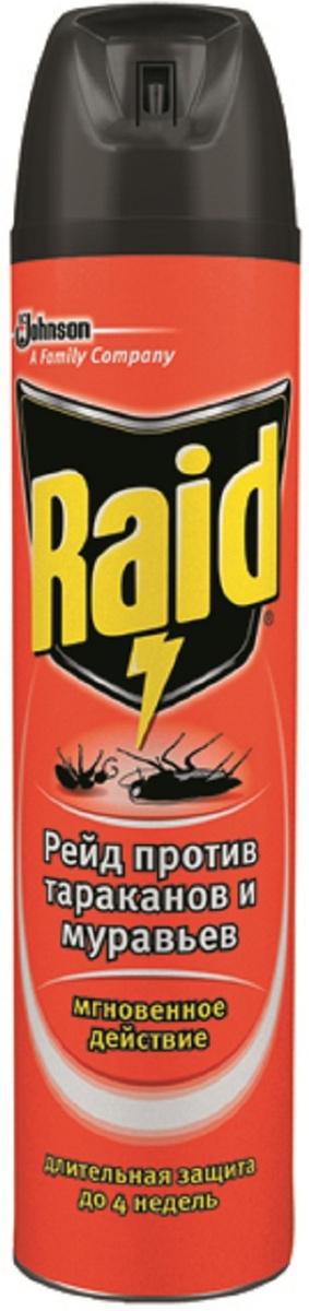 """Аэрозоль против тараканов и муравьев """"Raid"""", 300 мл #1"""