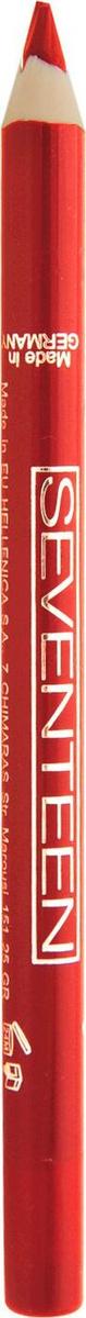 Seventeen Super Smooth W/P Lip Liner Карандаш для губ водостойкий с витамином Е, №27, красный  #1