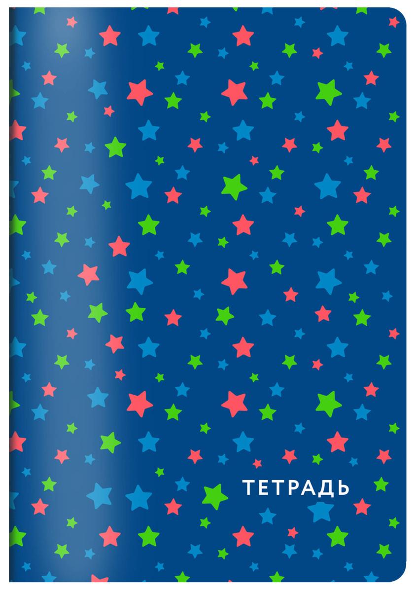 (2019)Звездное небо. Тетрадь общая, А5, 48л., накидка, 4 п. полноцвет., выб. лак | Нет автора  #1