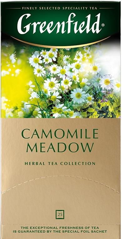 Чайный напиток в пакетиках Greenfield Camomile Meadow, 25 шт #1