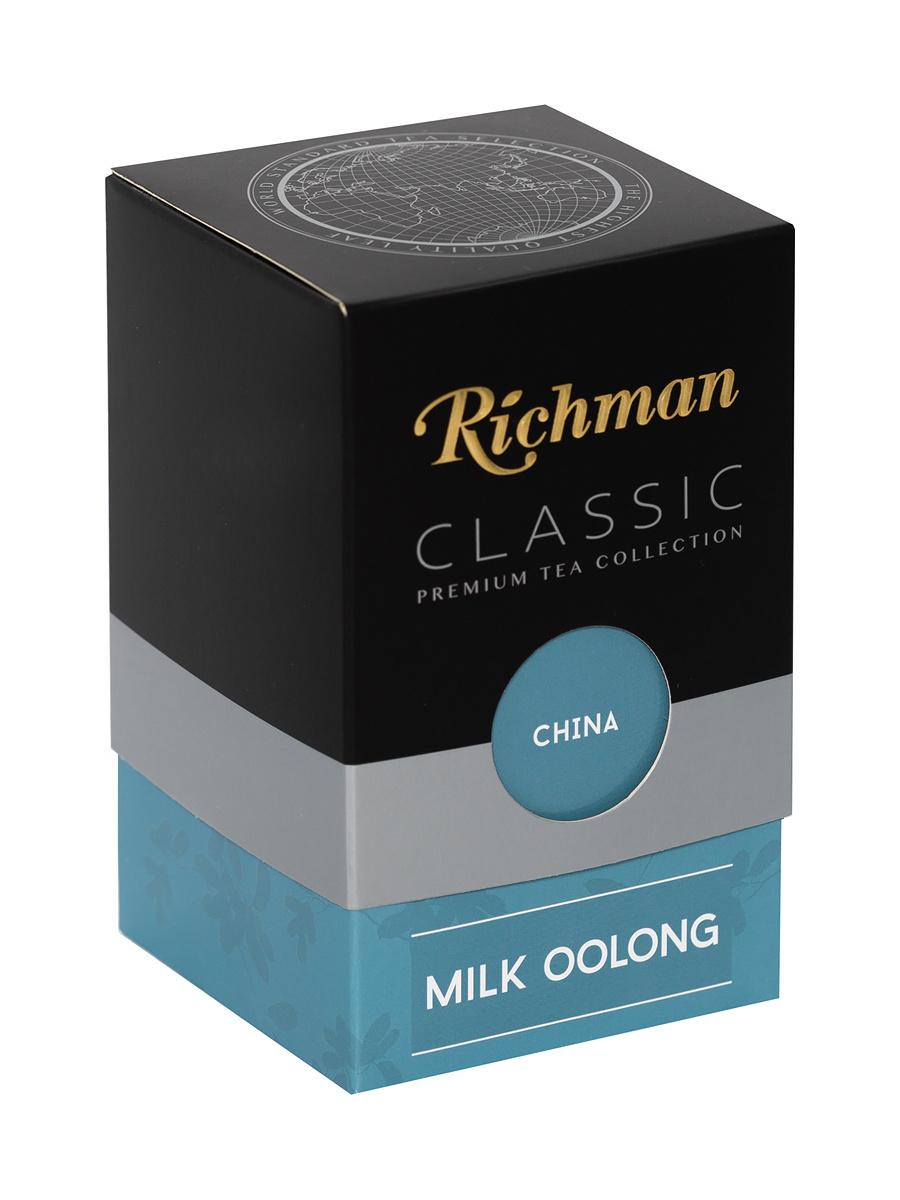 Чай Richman зеленый китайский крупнолистовой, Молочный Оолонг, 100г КИТАЙ  #1