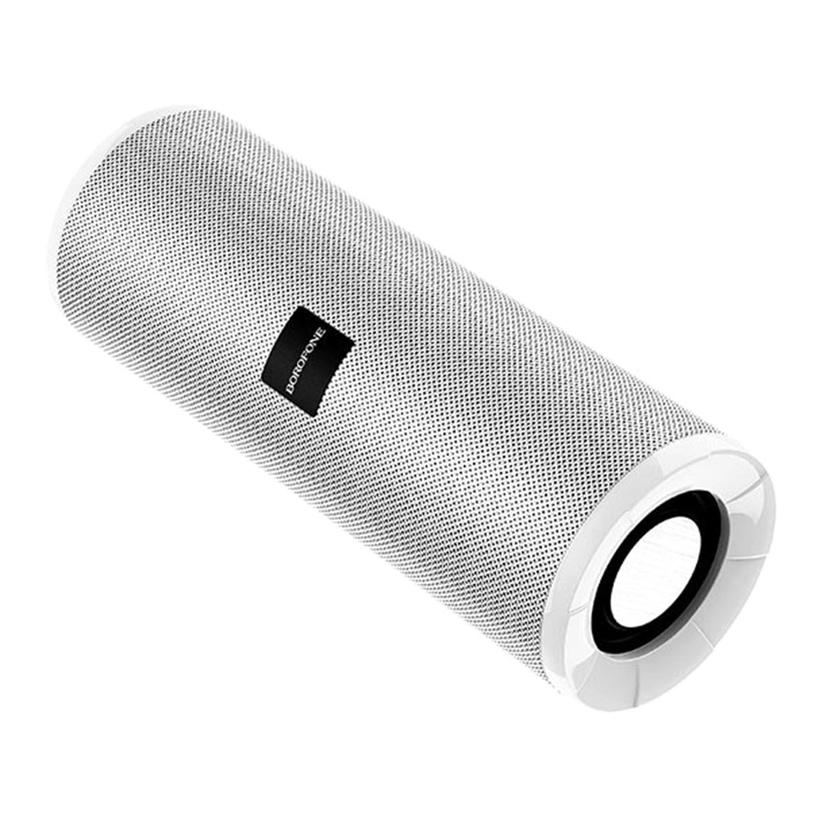 Колонка портативная Borofone BR1, 10ВТ, TWS (Bluetooth/microSD/USB/AUX/FM), серый  #1
