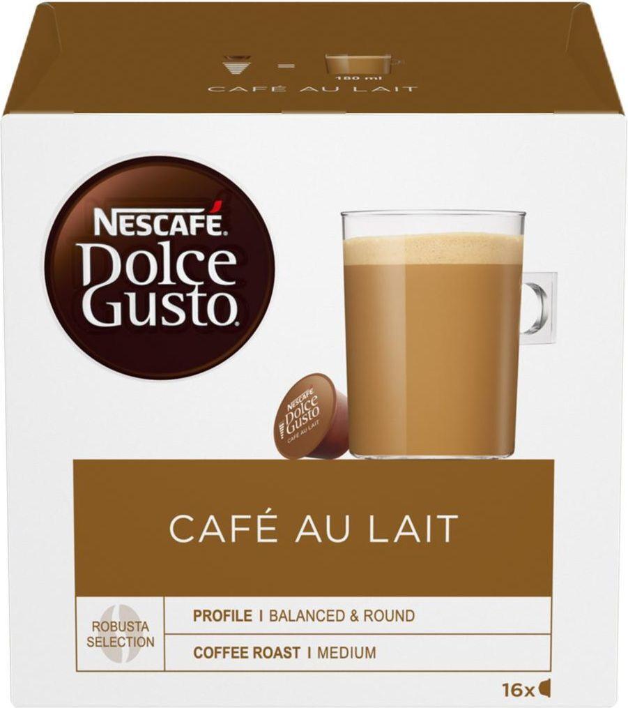 Кофе в капсулах Nescafe Dolce Gusto Café Au Lait, 16 шт #1
