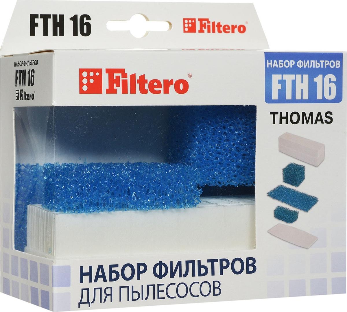 Filtero FTH 16 для пылесосов Thomas, 1 шт. #1