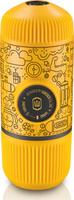 Ручная кофемашина WACACO Nanopresso Tattoo Yellow, Case 18 бар WCCTTTYL