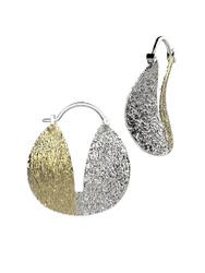 Spika Gold Серьги из серебра. Стильные серьги