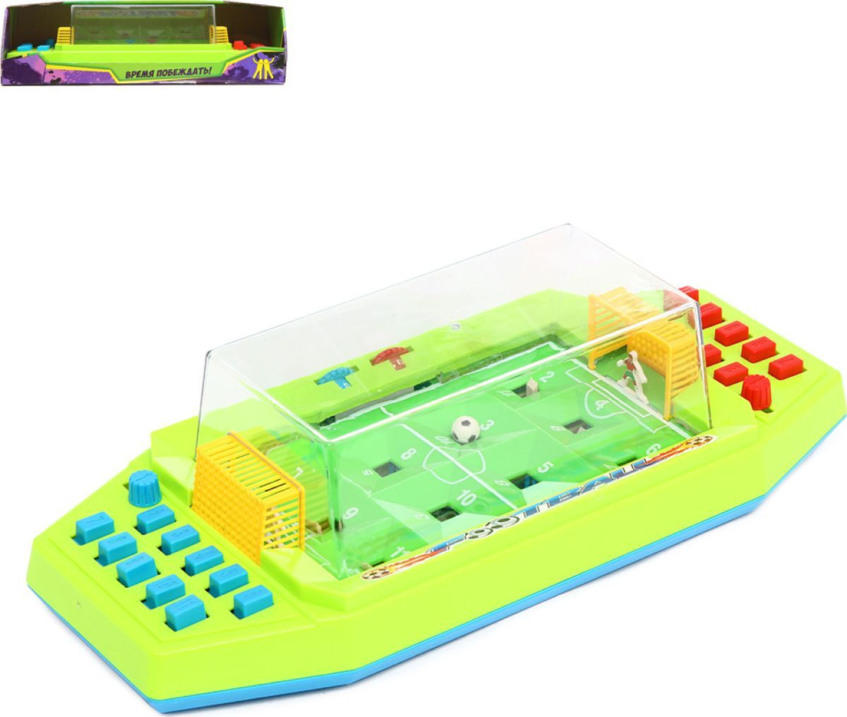 Игра настольная S+S Toys Футбол, SR0813 настольная игра s s toys сумашедшее ведро 200153749 1124626