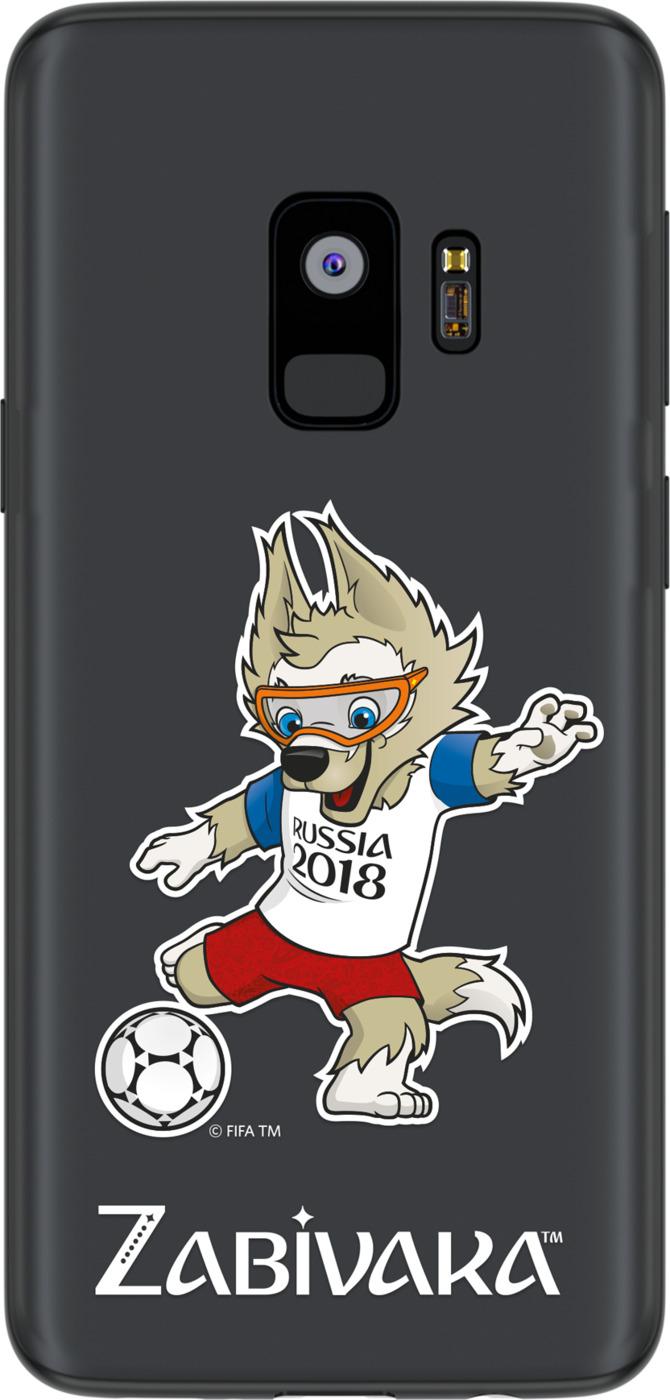 Чехол TPU для Samsung Galaxy S9, FIFA Zabivaka 2, Deppa кепка плюшевая fifa 2018 zabivaka взрослая