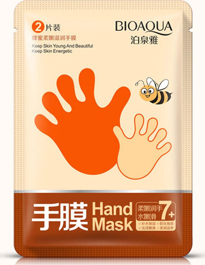 Увлажняющие маски-перчатки с медом Bioaqua увлажняющие маски