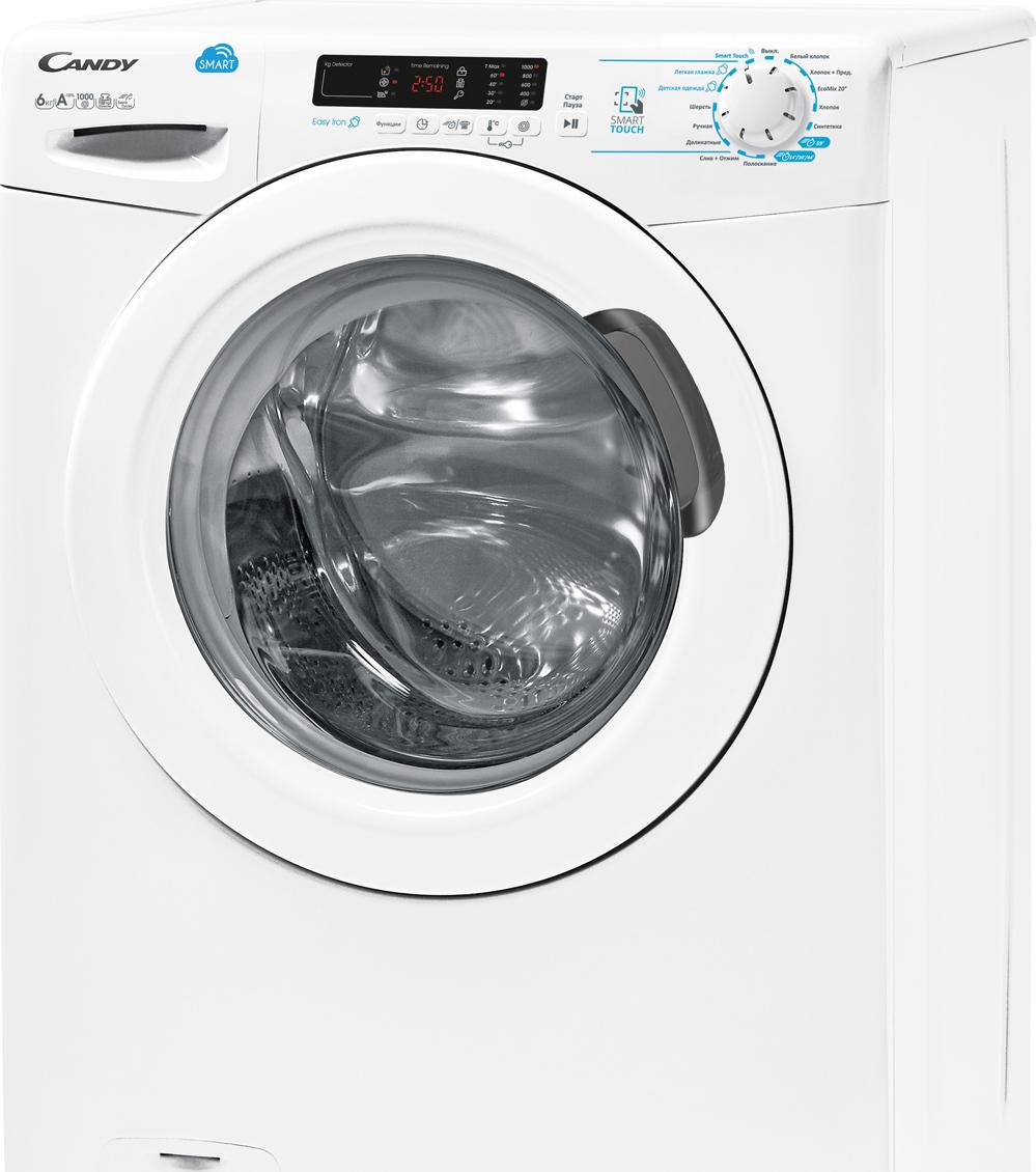 Стиральная машина Candy CSS34 1062D1-07, белый стиральная машина zanussi zwq61226wi белый