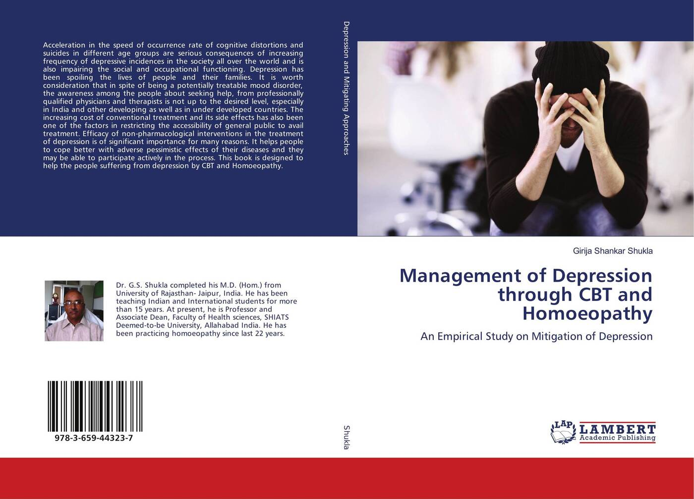 Management of Depression through CBT and Homoeopathy