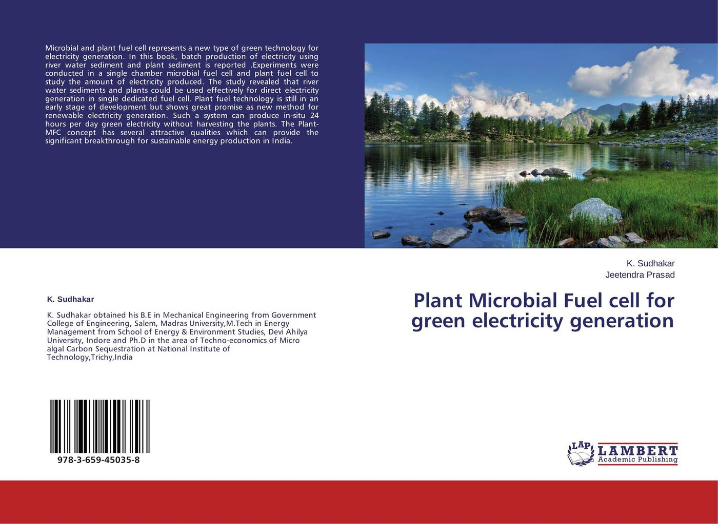 K. Sudhakar and Jeetendra Prasad Plant Microbial Fuel cell for green electricity generation