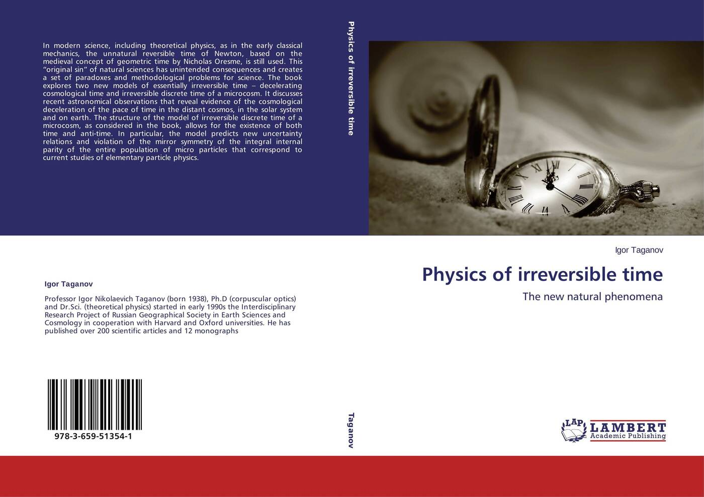 Igor Taganov Physics of irreversible time felix j palma the map of time and the turn of the screw