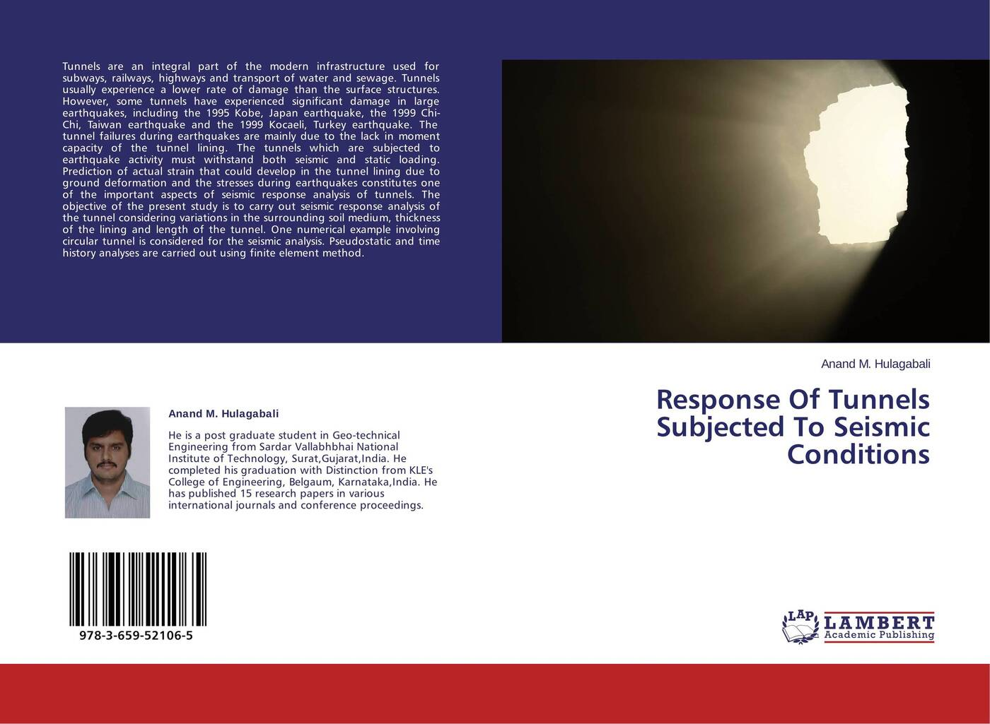 Anand M. Hulagabali Response Of Tunnels Subjected To Seismic Conditions t datta k seismic analysis of structures