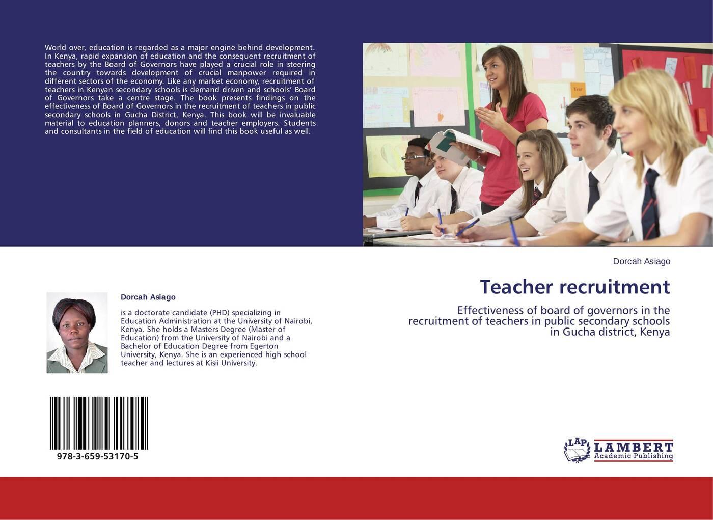 Dorcah Asiago Teacher recruitment asiago dorcah teacher recruitment