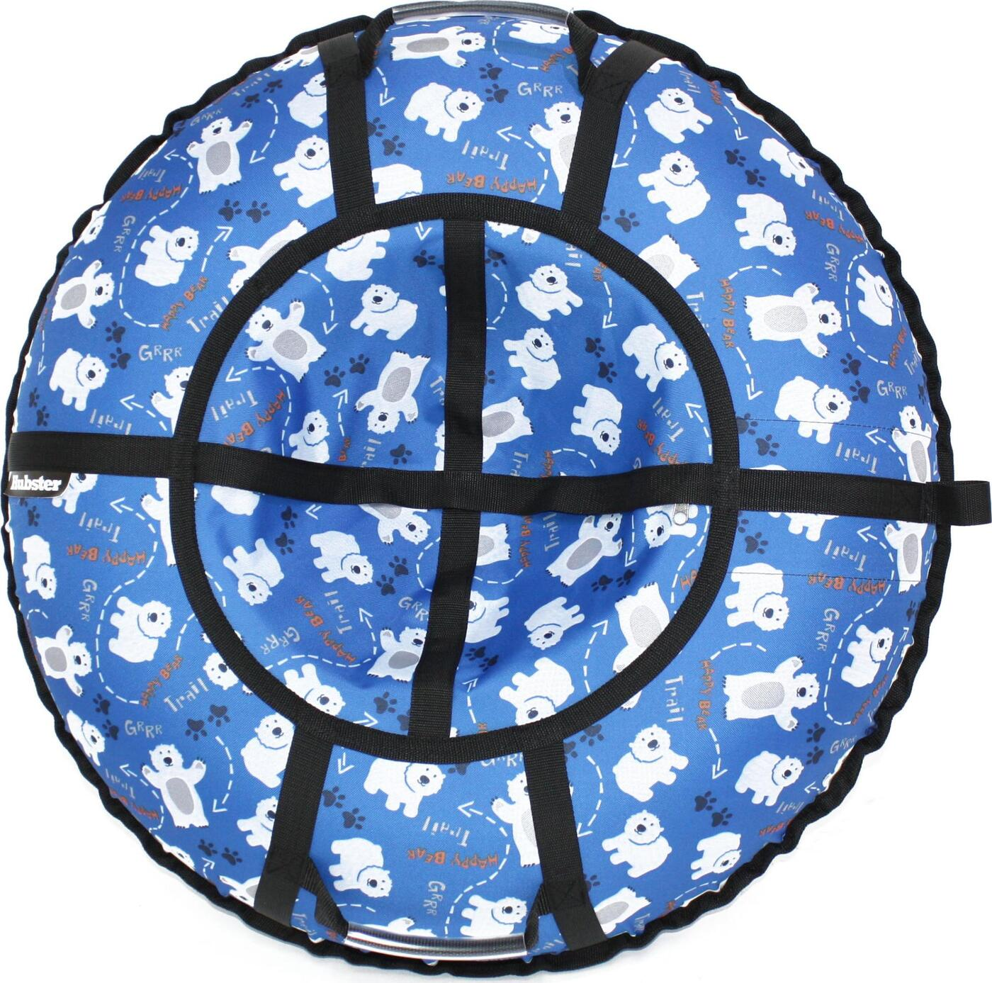 Тюбинг Hubster Люкс Pro Мишки синие (120см) тюбинг hubster люкс pro мишки 120cm violet во5132 3