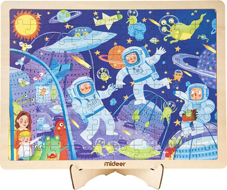 Деревянный пазл Космическое приключение fenix комплект из двух плакатов жаркие страны космическое приключение