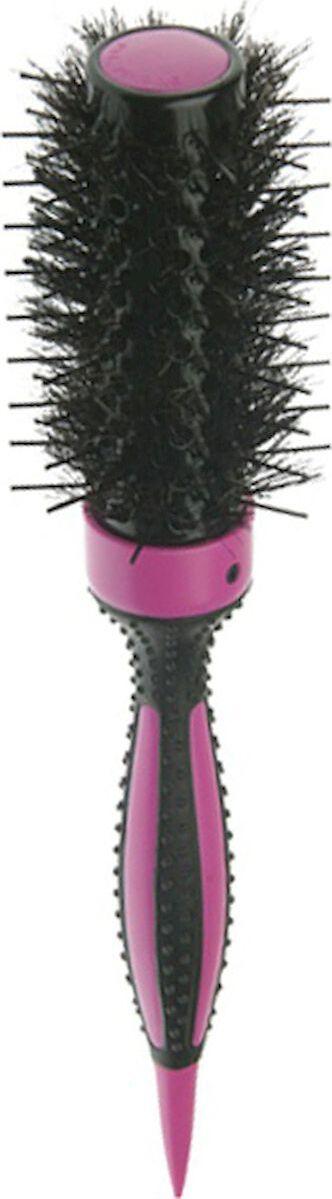 Термобрашинг DEWAL серия ELITE, с керамическим покрытием, розовый, пл.штифт+нат.щетина d32/55мм