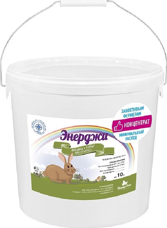 Добавка к зоокорму ПитерБио Энерджи для пушных зверей, 10 кг ПитерБио