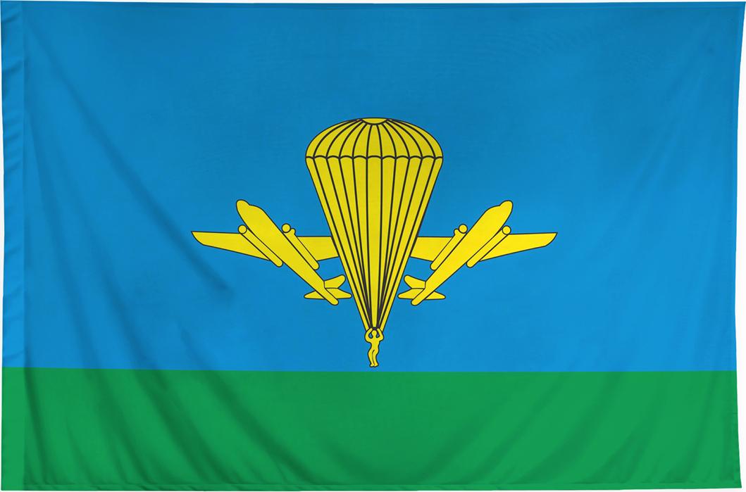 Флаг ВДВ РФ 135х90 Печать флагов осуществляется методом...