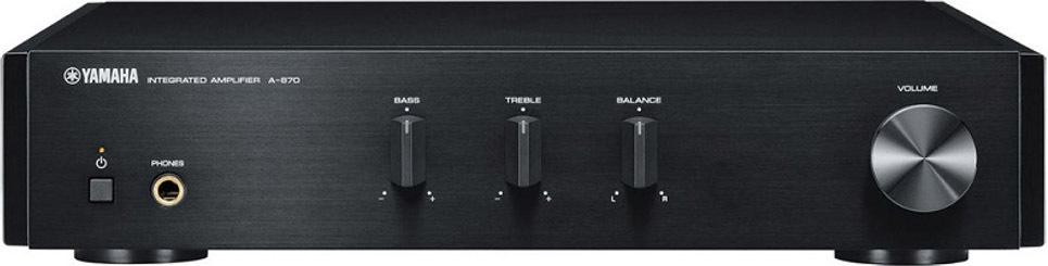 Интегральный усилитель Yamaha A-670, черный