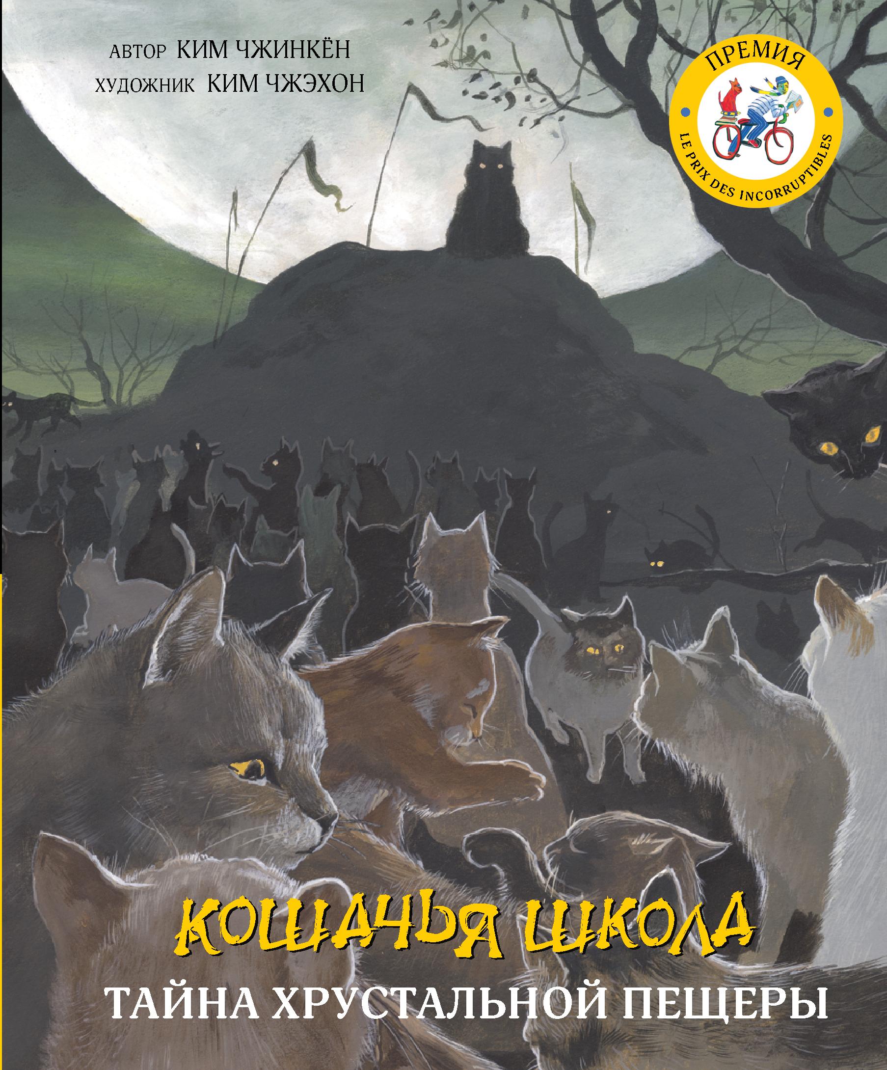 Кошачья школа: Тайна хрустальной пещеры | Чжинкён Ким