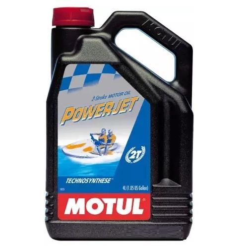 Масло моторное для гидроциклов полусинтетическое Motul Powerjet 2T TC-W3 4л (105873)