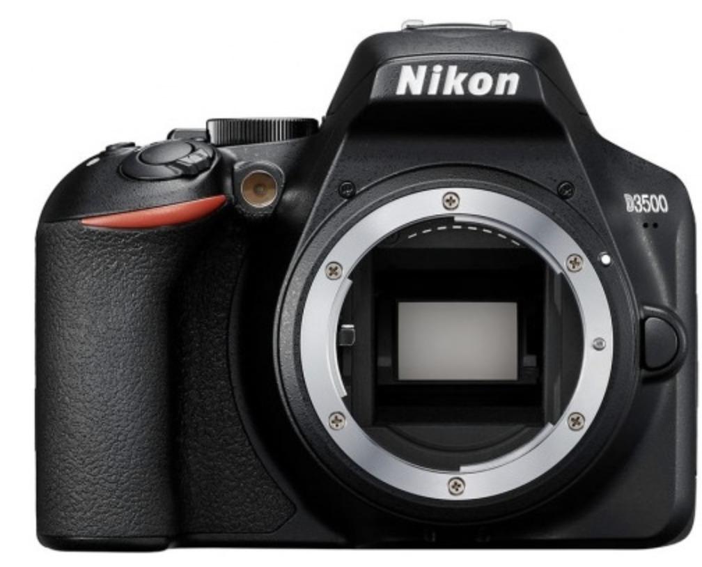 Зеркальный фотоаппарат Nikon D3500 Body, черный