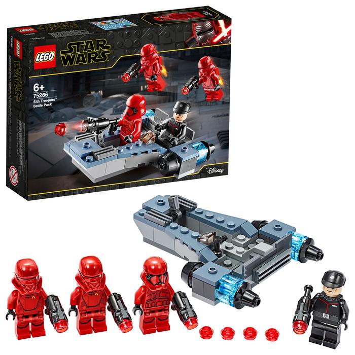 "Конструктор LEGO STAR WARS ""Боевой набор: штурмовики ситхов"""