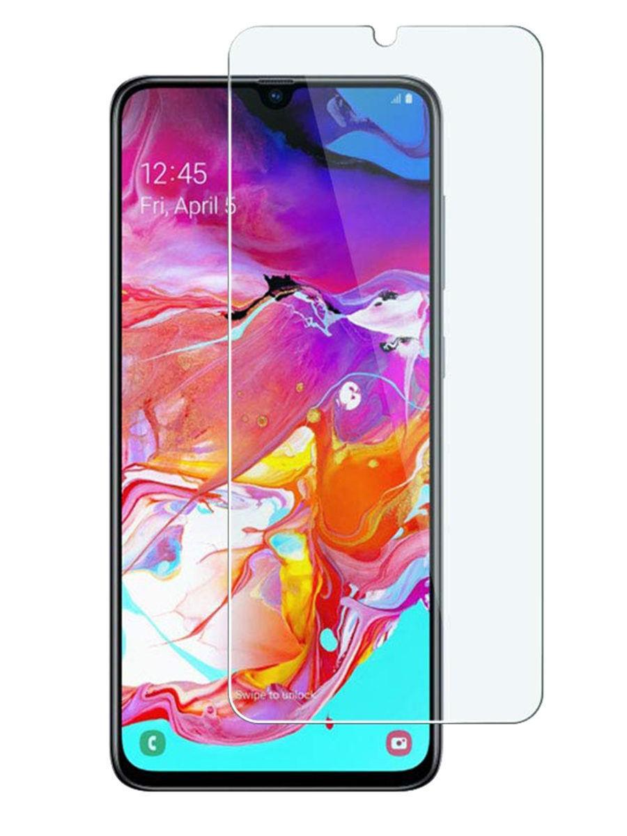 Защитное стекло для Samsung Galaxy A70. Противоударная сверх защита 9H для Самсунг Галакси А70, DIMD