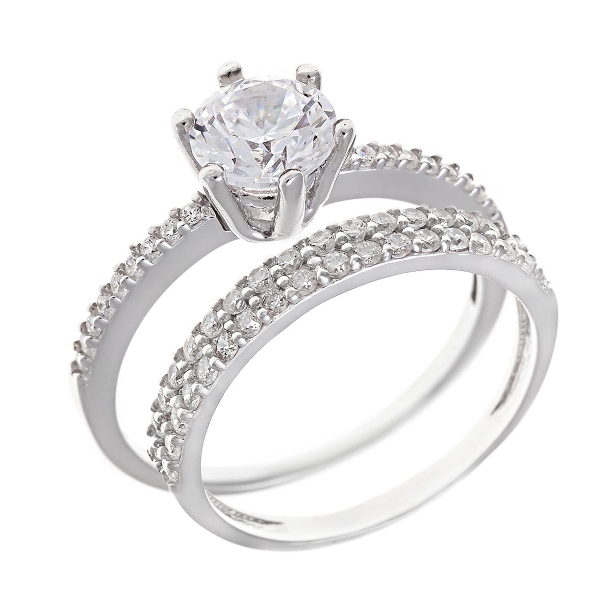Кольцо Milanti 2 кольца парные