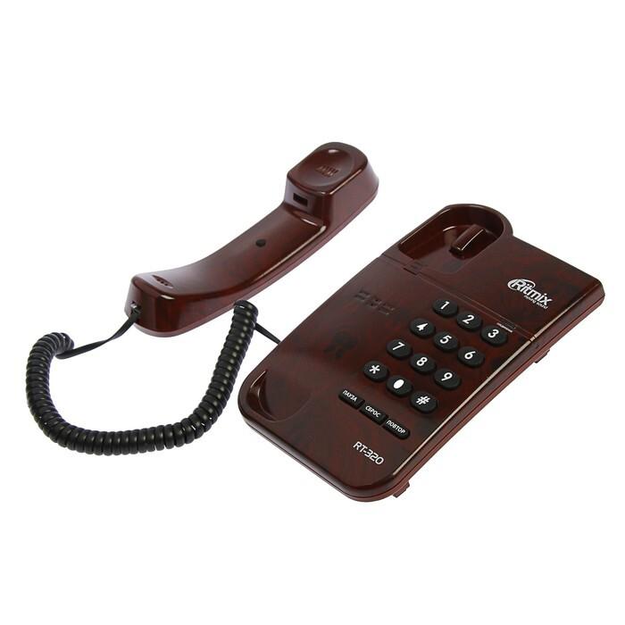 телефон ritmix rt-320, мраморный кофе