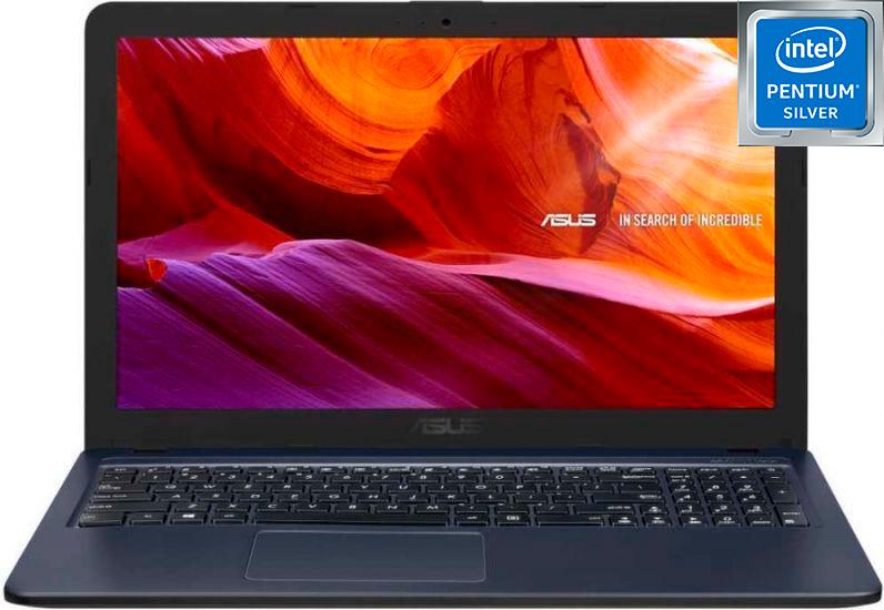 "15.6"" ноутбук asus x543ma-gq1139, intel pentium silver n5030 (1.1 ггц), ram4 гб, ssd 256 гб intel uhd graphics 605, linux, (90nb0ir7-m22070), серый, серый"
