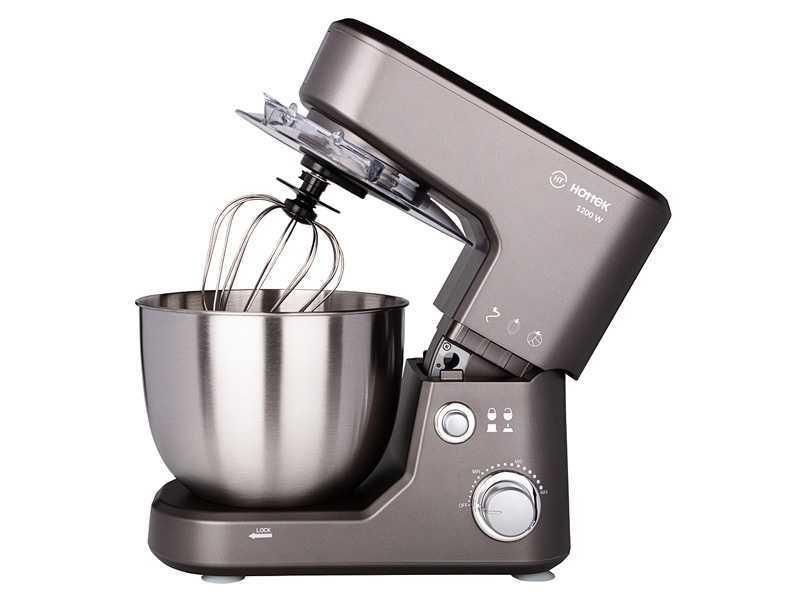 Стационарный Миксер Hottek Кухонная машина HT-977-004, 1200 Вт