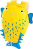 Рюкзак для бассейна и пляжа Trunki Рыба Пузырь (желтый/голубой), 0111-GB01 - изображение
