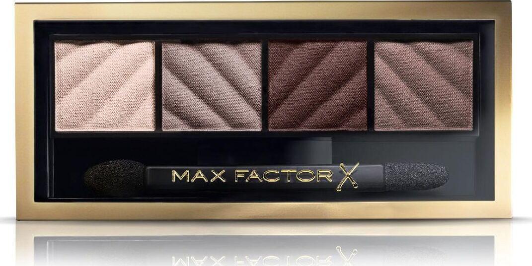 Max Factor Тени для век и Пудра для бровей Smokey Eye Matte Drama Kit 2в1, тон №30 Smokey Onyx  #1