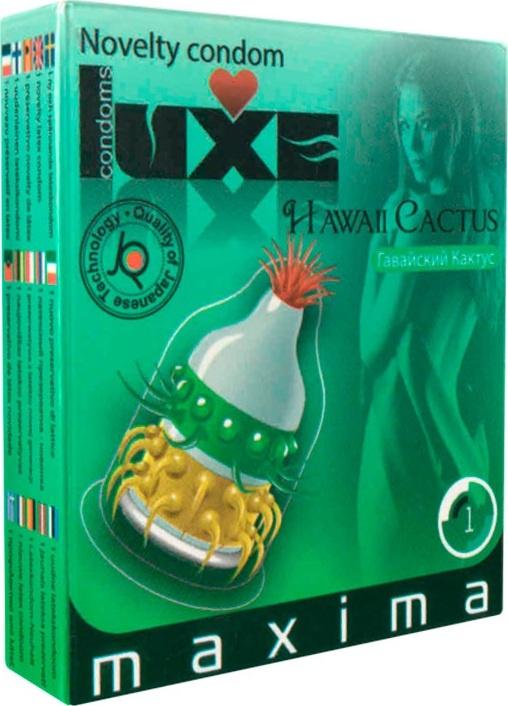 Luxe Презервативы Maxima Гавайский Кактус #1