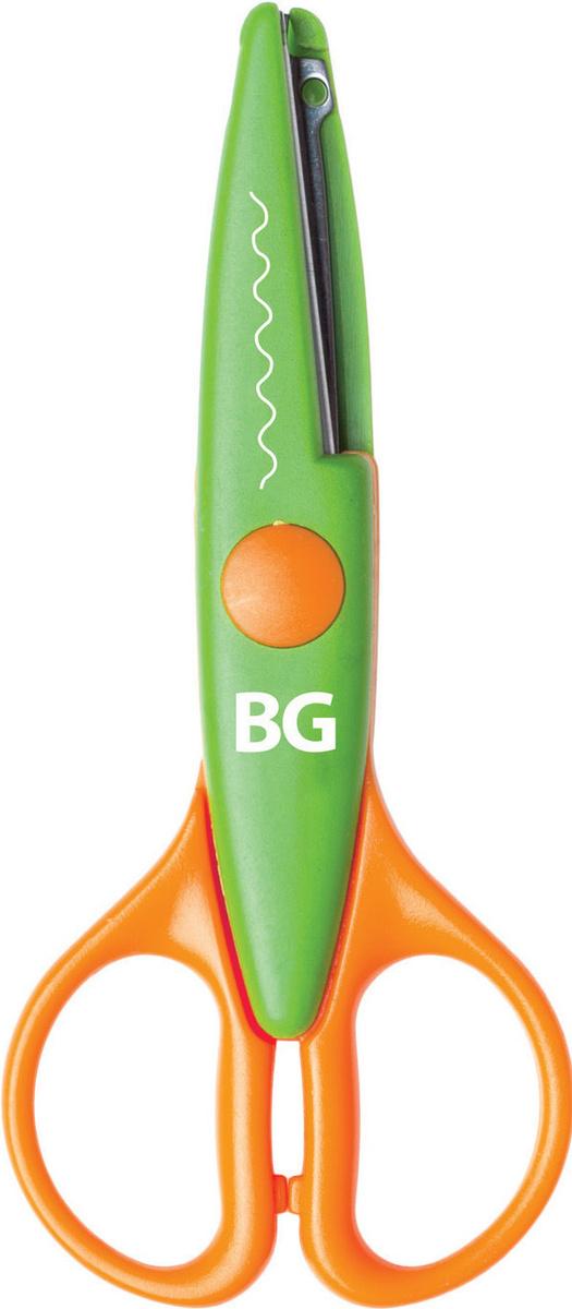 """Ножницы детские BG """"Zoo"""" 13,5 см,  с фигурными лезвиями #1"""