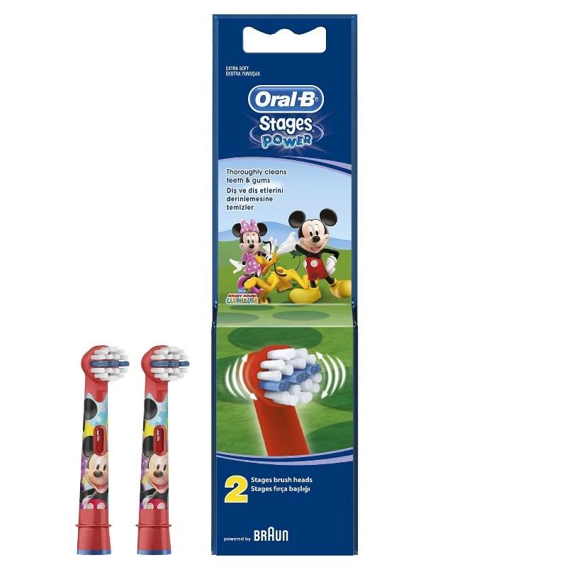 Сменные насадки для электрической зубной щетки Oral-B Kids с героями Disney, цвет в ассортименте, 2 шт. #1