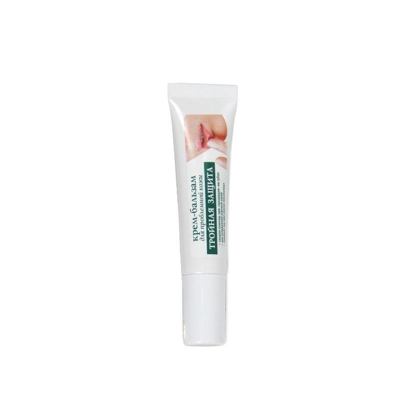 Тройная защита для проблемной кожи Repharm Крем-бальзам, 10г  #1