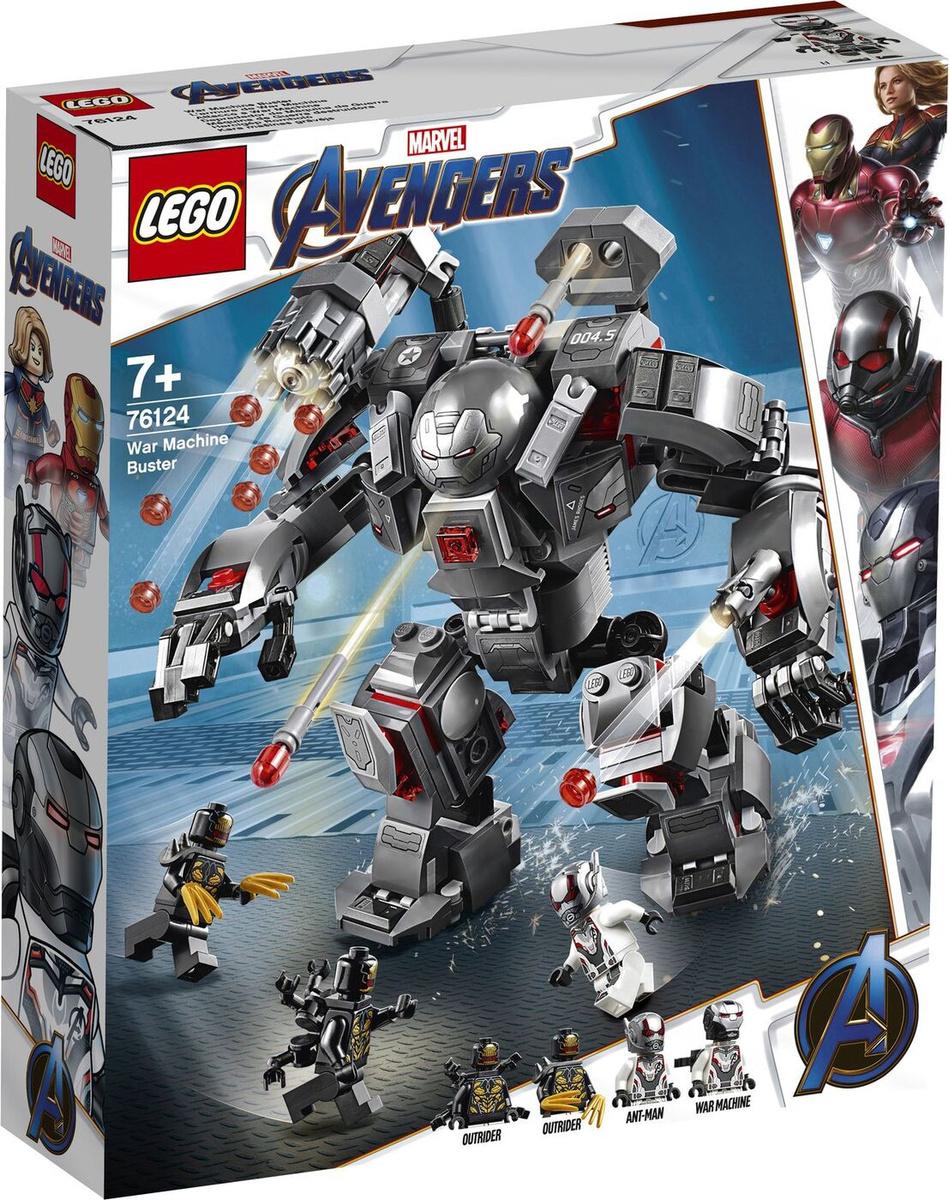 Конструктор LEGO Marvel Avengers Movie 4 76124 Воитель #1