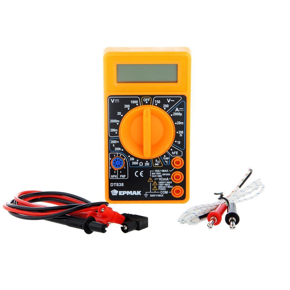 Мультиметр ЕРМАК 660-005 цифровой DT-838 #1